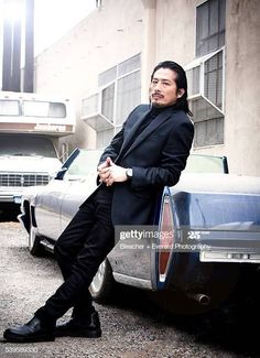 Actor Hiroyuki Sanada is photographed for August Man on May 2015 in New York City. PUBLISHED Get premium, high resolution news photos at Getty Images Chiba, Jackie Chan, Kai, Beautiful Men, Beautiful People, Ephesians 5 11, Asian Men Hairstyle, Men Hairstyles, The Last Samurai