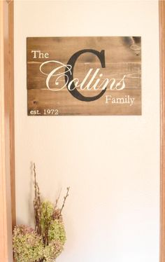 stained wooden plaque