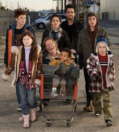 The Gallaghers on 'Shameless' - TV's Dysfunctional Families