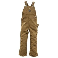 Lakin McKey Big Boys Premium Washed Duck Overall - Saddle Brown ** Review more details @