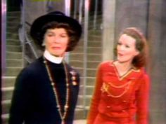 Back in 1970, Katharine Hepburn actually starred in a musical, COCO, written by Alan Jay Lerner (who co-wrote MY FAIR LADY and CAMELOT) and Andre Previn.  The show was about the famous designer of clothes and perfume, and ran for a semi-respectable 329 performance.  Well, we aims to please, here's a real treat - video of her singing from the show. But that's not the treat:  it's 15 minutes!! -- RJE