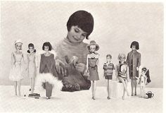 Play Barbie, Barbie Skipper, Barbie And Ken, Vintage Barbie, Vintage Dolls, Vintage Art, Old Dolls, Antique Dolls, Fashion Through The Decades