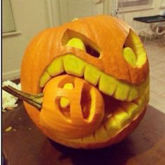 I want to do this for my pumpkin carving party this year :) haha