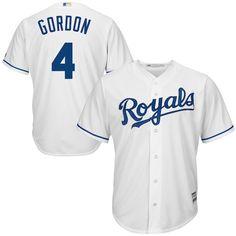 7e4aca9be Alex Gordon Kansas City Royals Majestic Official Cool Base Player Jersey -  White  KansasCityRoyals Alex