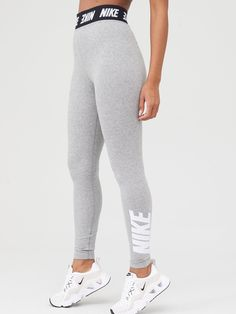 Nike Nsw Club Legging - Dark Grey Heather