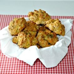 Old Bay Cheddar Biscuits recipe