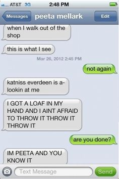 hahah!!!! <3 I love the Hunger Games