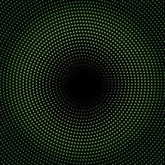 緑のサークル halftone.ベクトル illustration.10 eps vector art illustration