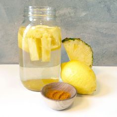 Lemon Pineapple Water | Fabletics Blog