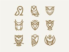 Owl designed by artsigma. Connect with them on Dribbble; the global community for designers and creative professionals. Simple Owl Tattoo, Owl Tattoo Small, Tattoos Mandala, Tattoos Geometric, Sketch Tattoo Design, Tattoo Designs, Tattoos For Women Small, Tattoos For Guys, Logo Creator