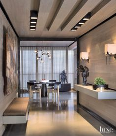 Spacious 21st-Century Penthouse | LuxeSource | Luxe Magazine - The Luxury Home Redefined