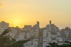 Sunset in San Francisco, California - USA by Herbert Albuquerque on 500px