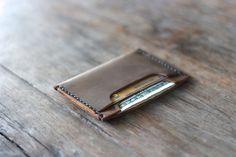 Leather Wallet DOUBLE Sleeve Best Groomsmen Gifts by JooJoobs