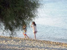 The beautiful beach of Hanioti Halkidiki attracts every year many visitors. The village is full of green and there are many beautiful spots. Halkidiki Greece, The Visitors, Beautiful Beaches, Green