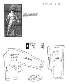 Free Barbie Clothes Patterns - Aileen's Petite Fashions (patterns 81 thru 182)