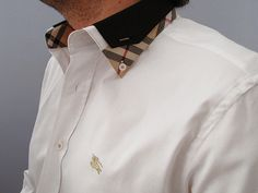 Burberry Shirt for Men WHITE Formal Fashion, Men Fashion, Men's Shirts, Casual Shirts, Burberry Shirts For Men, Haberdashery, Men's Accessories, Clubwear, Shirt Style