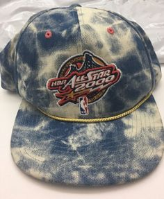 0155203eb50 Mitchell   Ness 2000 NBA All Star Game Golden State Acid Wash Snapback Hat