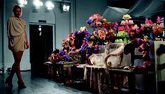 Schlaraffenland auf der London Fashion Week für das britische Label Tata Naka; Foto: Farrukh Younus