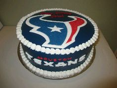 Texans Cake Football Themed Cakes Sports Birthday Houston