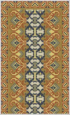 Cross Stitching, Cross Stitch Embroidery, Embroidery Patterns, Crochet Patterns, Cross Stitch Designs, Cross Stitch Patterns, Weaving Designs, Needlepoint Designs, Patterned Carpet