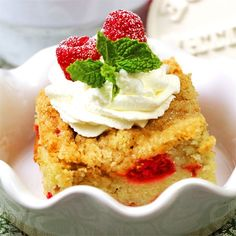 "Buttermilk Mango-Berry Crumb Cake I ""This is the BEST coffee cake. My ..."