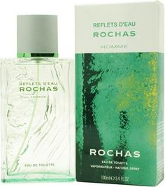 Reflets D'eau Rochas By Rochas For Men. Eau De Toilette Spray 3.4 OZ by Rochas. $31.55. Packaging for this product may vary from that shown in the image above. This item is not for sale in Catalina Island. Launched by the design house of Rochas.Whenapplyingany fragrance please consider that there are several factors which can affect the natural smell of your skin and, in turn, the way a scent smells on you. For instance, your mood, stress level, age, body chemistry...