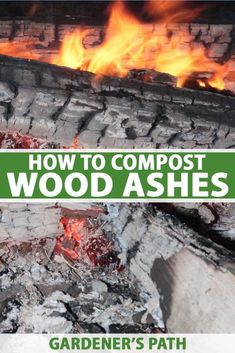 Unsure of what to do with that growing heap of ashes by the fireplace? Why not try composting them. Composting wood ash is an easy way to increase the pH of acidic soil and add nutrients such as calcium and potassium. Read on to learn how and when to use wood ashes in the compost. #woodash #compost #gardenerspath How To Start Composting, Making A Compost Bin, How To Make Compost, Composting At Home, Wood Ash, Got Wood, Gardening For Beginners, Gardening Tips, Easy Garden