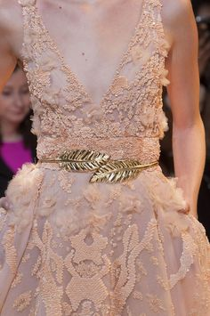 Details at Zuhair Murad Couture S/S 2014