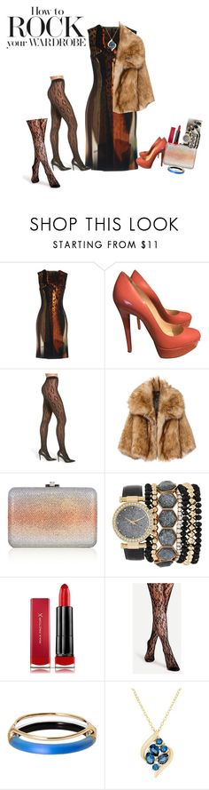 """""""bsejc80@gmail.com"""" by conley-esperanzaj1957 on Polyvore featuring Roberto Cavalli, Christian Louboutin, OROBLU, Judith Leiber, Jessica Carlyle, Max Factor, Alexis Bittar and Lord & Taylor"""