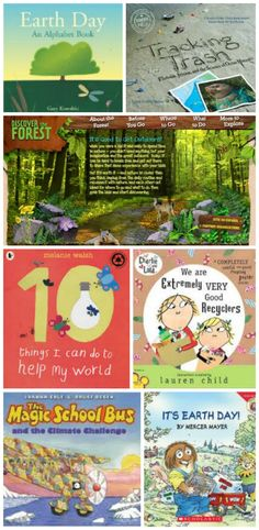 Kids will love these books & websites that teach them about environmental issues and fun ways to be earth-friendly!