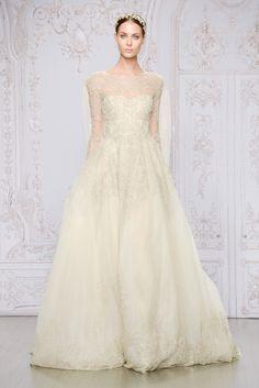 Spring 2015's Best Wedding Dresses - Monique Lhuiller wedding
