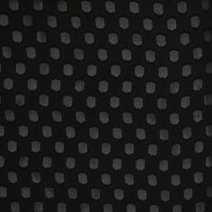 The Worth Black On Black Luminous Silk-Rayon Satin-Faced Twill Fabric by the Yard | Mood Fabrics