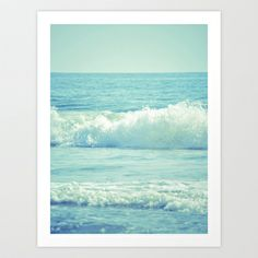 The Waves Art Print by Beth Thompson - $18.00