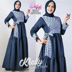 48 Hijab Motif Dress Ideas for 2019 Information, tips and photos of various robe shirts mo . - 48 Ideas for Hijab Dress Motifs for 2019 Information, Tips and Photos of the latest various modern - Iranian Women Fashion, Islamic Fashion, Muslim Fashion, Batik Fashion, Abaya Fashion, Fashion Dresses, Hijab Style Dress, Dress Outfits, Abaya Designs