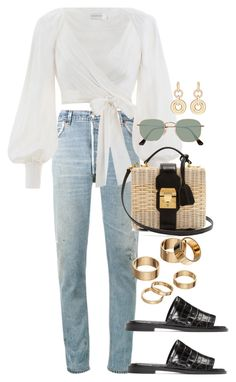 Designer Clothes, Shoes & Bags for Women Chill Outfits, Swag Outfits, Cute Casual Outfits, Simple Outfits, Spring Outfits, Teen Fashion Outfits, Kpop Fashion, Mode Hipster, Mark Cross
