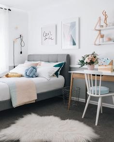Dream Bedrooms For Teenage Girls modern and trendy teen girl bedrooms | teen, bedrooms and girls