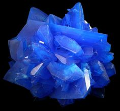 Excellent - TOP Luster Electric Blue CHALCANTHITE on MATRIX | eBay