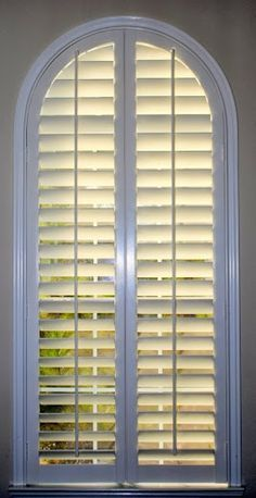 Image result for window shutters arched window