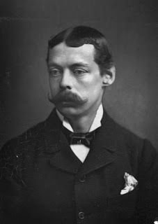 Lord Randolph Churchill, Winston Churchill's Father, was a guest at Eastwell with his wife.