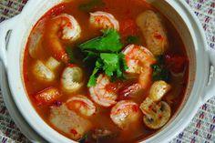 User uploaded image for Thai Prawn Soup with Lemongrass, 'Tom Yum Goong' Tom Yam Soup, Thai Tom Yum Soup, Thai Soup, Thai Thai, Thai Recipes, Asian Recipes, Soup Recipes, Cooking Recipes, Diet Recipes