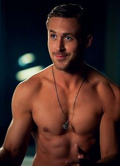 Ryan Gosling Shirtless- just get on top of me already