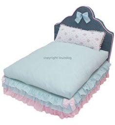 Fancy Pet Beds 'Rosy Bed' Designer Louis Dog