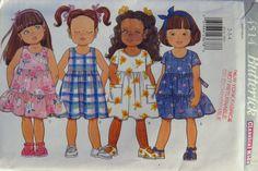 Butterick 4514 Toddler's Dress