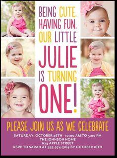 invitation Fun Little One:Plumberry