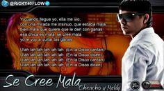 Plan B - Se Cree Mala (Con Letra) La Formula (Original) Lirics 2012