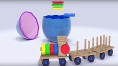 Lehrreicher Cartoon - Eggy Baby Überraschungsei - Der Zug