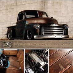What& better than a classic pickup truck? How about a custom pickup truck. Love seeing what people do with their old pickup trucks. Enjoy this photo album 54 Chevy Truck, Chevy Pickup Trucks, Gm Trucks, Chevy Pickups, Diesel Trucks, Chevy 3100, Chevy 4x4, Truck Drivers, Lifted Chevy