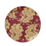 $24.95 - Chic Floral Pattern Dinner Napkin Plates - Perfect for celebrating a special occasion or creating a one-of-a-kind dining set, our non-toxic and dishwasher-safe plates in vibrant full-color printing. Adorn your home with a custom plate today! - by DoodlesGifts