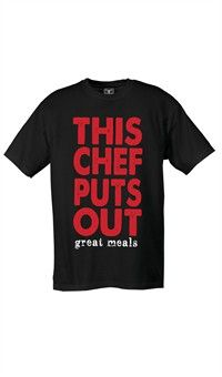 Attitude Chef T-Shirt - This Chef Puts Out Great Meals
