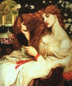 Lady Lilith Italian artist Dante Gabriel Rosetti